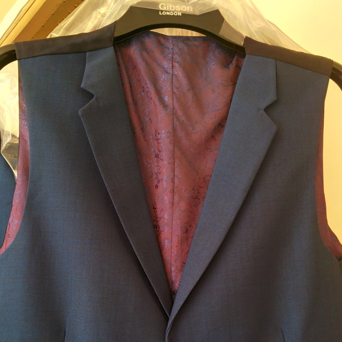 Before - with notched lapel collar